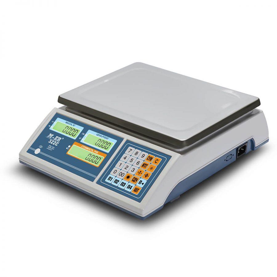 """Торговые настольные весы M-ER 322 AC-32.5 """"Ibby"""" LCD - Гарантия производителя!"""