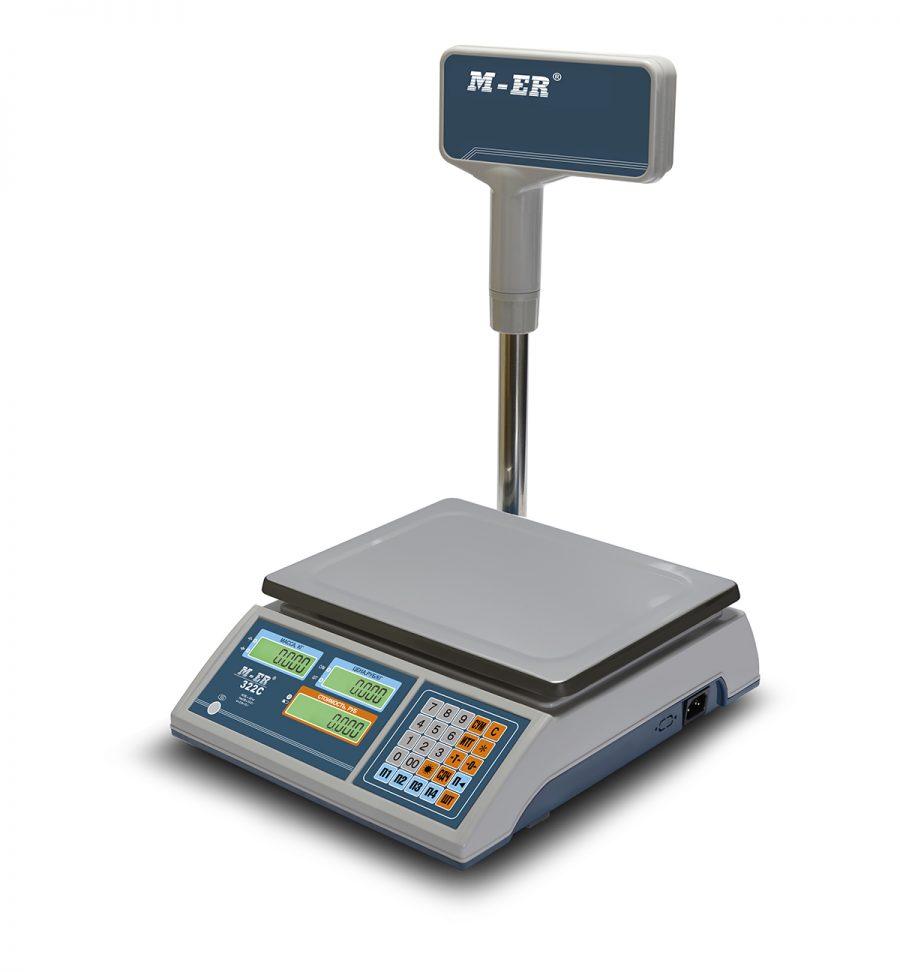 """Торговые настольные весы M-ER 322 ACPX-32.5 """"Ibby"""" LCD - Гарантия производителя!"""