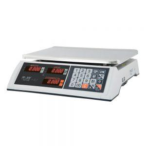"""Торговые настольные весы M-ER 327 AC-32.5 """"Ceed"""" LED Белые - Гарантия производителя!"""