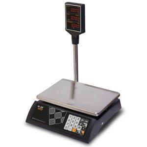 """Торговые настольные весы M-ER 327 ACP-32.5 """"Ceed"""" LED Черные - Гарантия производителя!"""