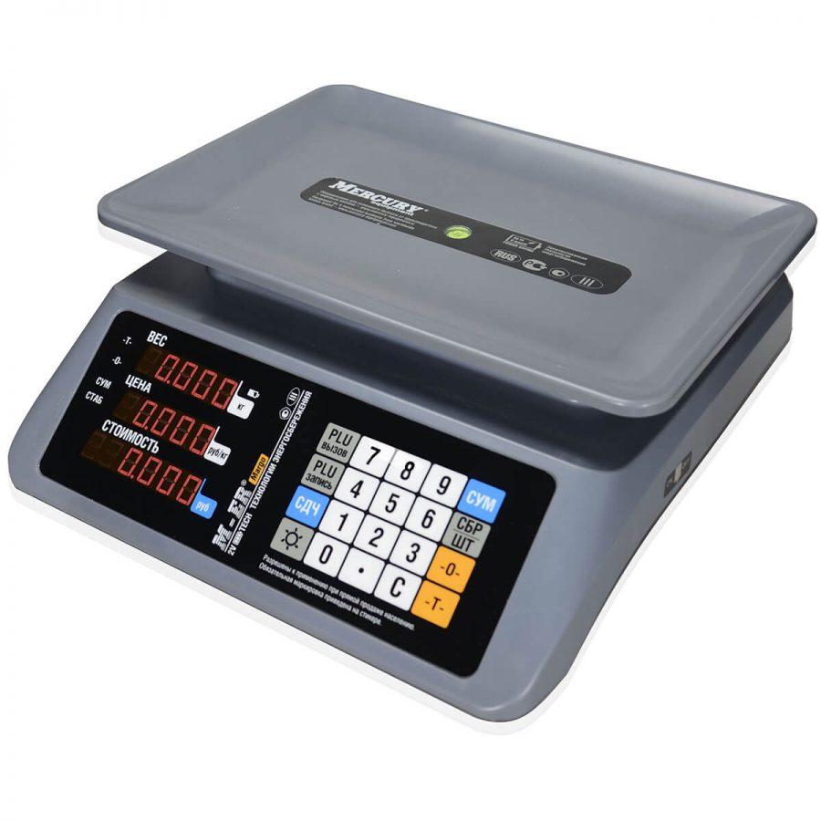 """Торговые настольные весы M-ER 321 AC-15.2 """"MARGO"""" LED - Гарантия производителя!"""