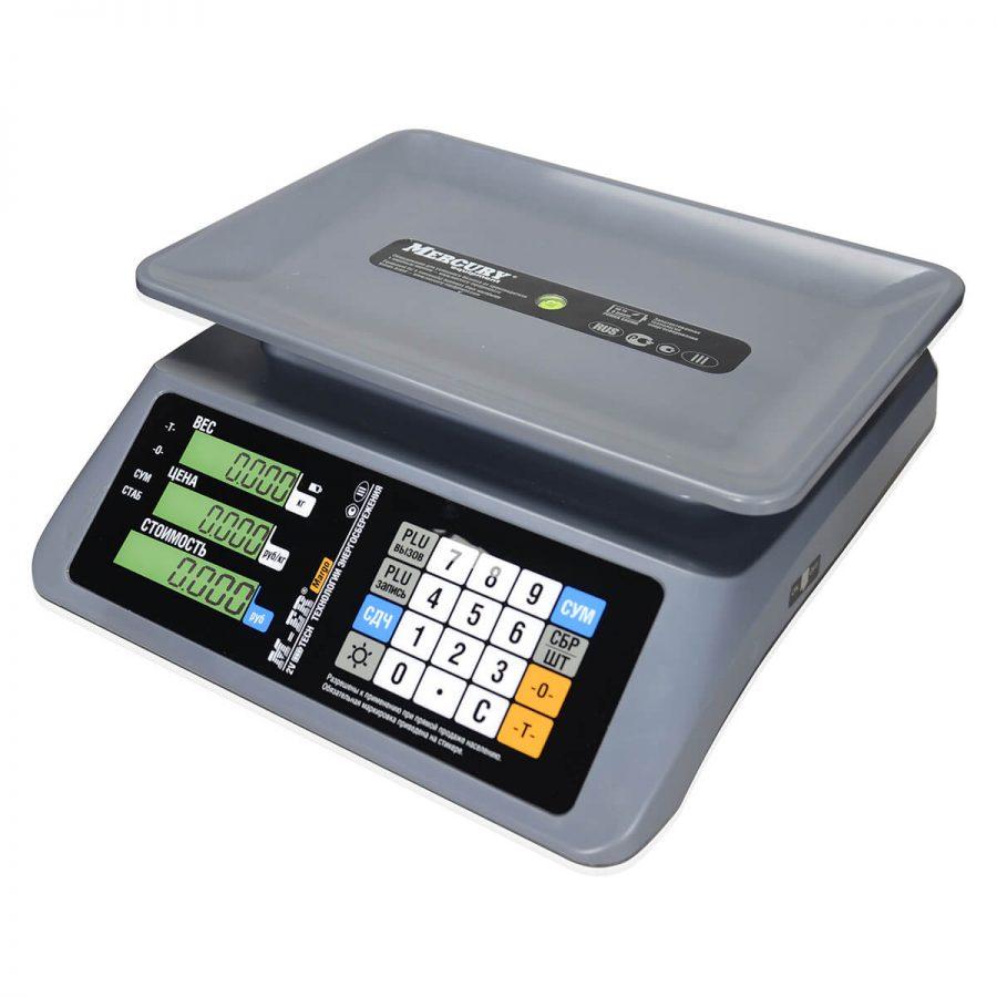 """Торговые настольные весы M-ER 321 AC-32.5 """"MARGO"""" LCD - Гарантия производителя!"""