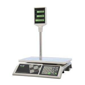 """Торговые настольные весы M-ER 326 ACP-32.5 """"Slim"""" LCD Белые - Гарантия производителя!"""