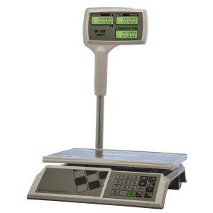 """Торговые настольные весы M-ER 326 ACPX-32.5 """"Slim'X"""" LCD Белые - Гарантия производителя!"""