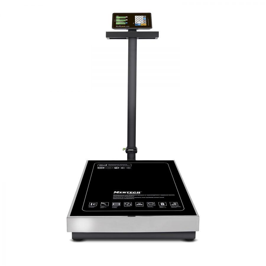 """Торговые напольные весы M-ER 333 ACLP-600.200 """"TRADER"""" с расч. стоимости LCD - Гарантия производителя!"""