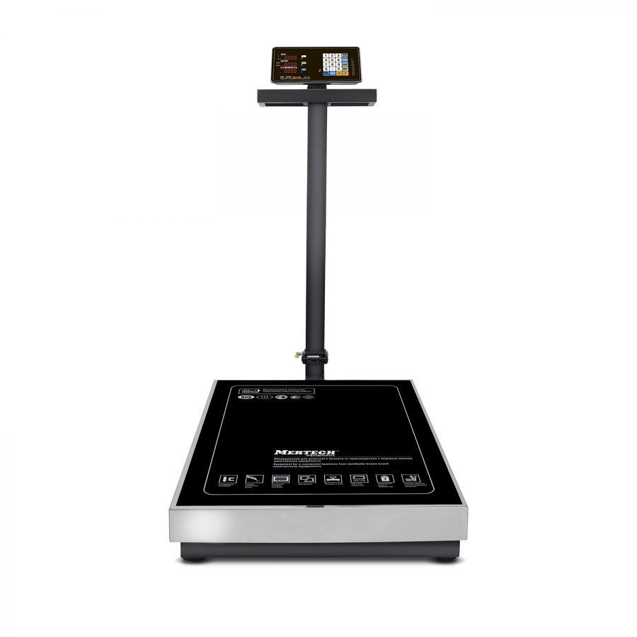 """Торговые напольные весы M-ER 333 ACLP-600.200 """"TRADER"""" с расч. стоимости LED - Гарантия производителя!"""
