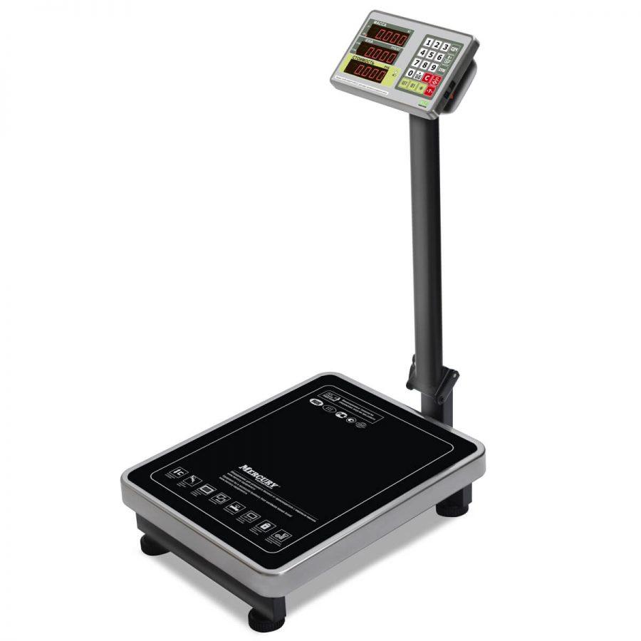 """Торговые напольные весы M-ER 335 ACP-300.50 """"TURTLE"""" с расчетом стоимости товара LED - Гарантия производителя!"""