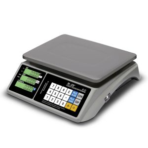 """Торговые настольные весы M-ER 328 AC-32.5 """"TOUCH-M"""" LCD RS232 и USB - Гарантия производителя!"""