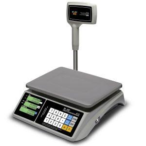 """Торговые настольные весы M-ER 328 ACPX-32.5 """"TOUCH-M"""" LCD RS232 и USB - Гарантия производителя!"""