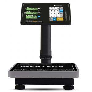 Торговые напольные весы M-ER 333 ACPU с расч. стоимости LCD - Гарантия производителя!
