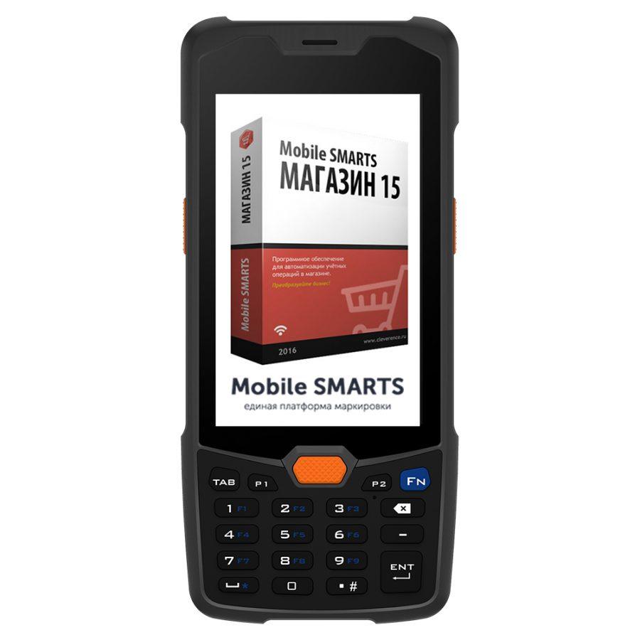 Комплект ТСД Mertech SUNMI L2K  с ПО Магазин 15 Базовый с ЕГАИС - Гарантия производителя!
