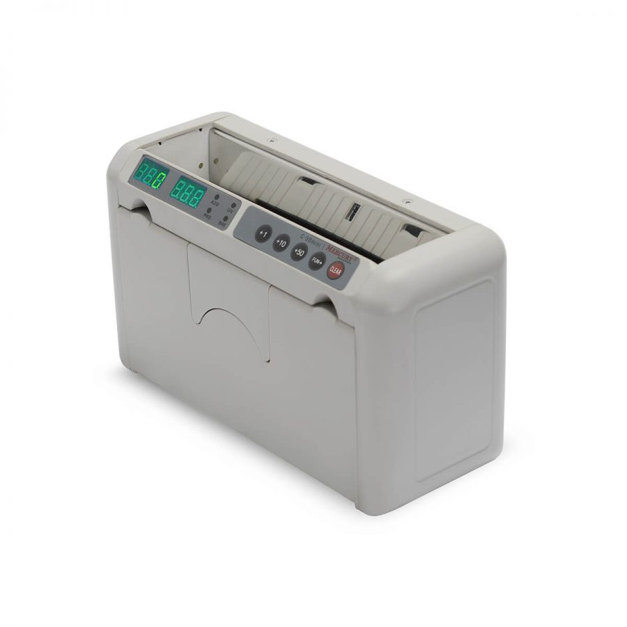 Портативный счетчик банкнот Mercury 50 Mini с АКБ - Гарантия производителя!
